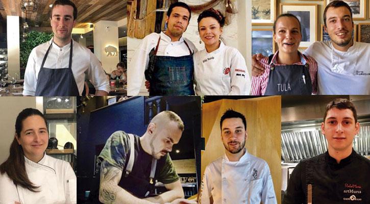 Candidatos Cocinero Revelación 2019