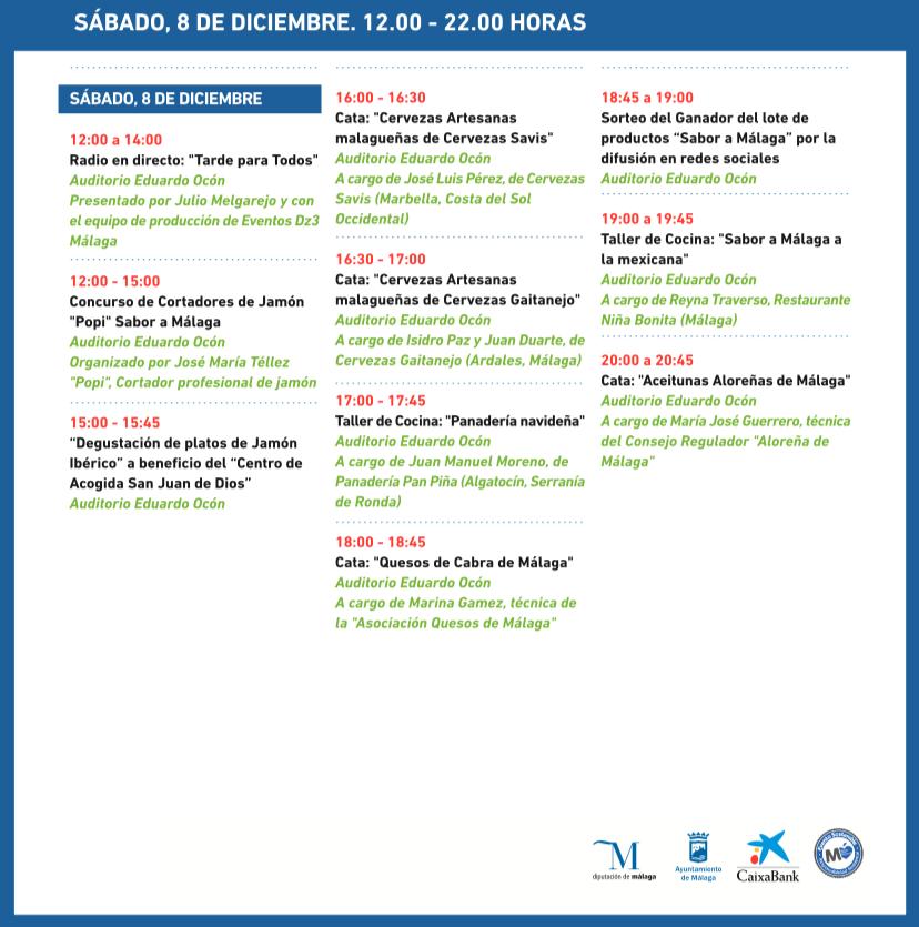 Gran Feria Sabor a Málaga - Sábado 8