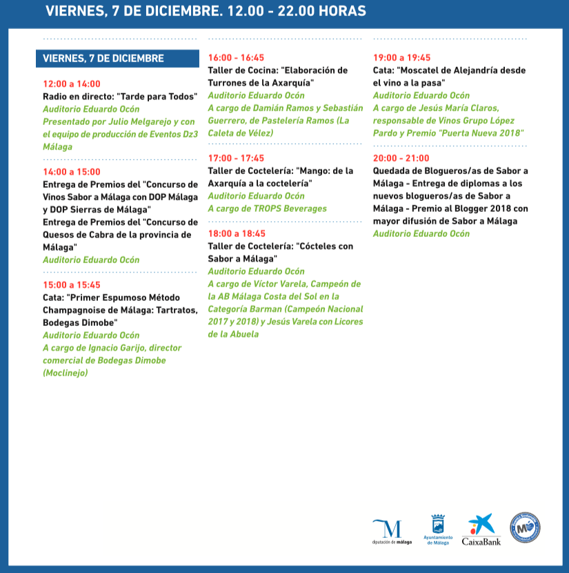 Gran Feria Sabor a Málaga - Viernes 7