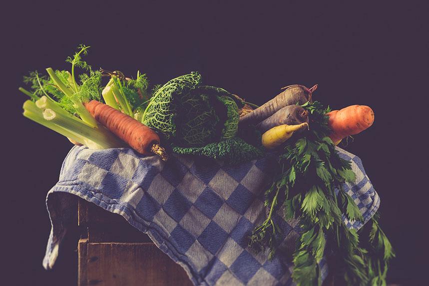 Aumento el consumo de alimentos verdes