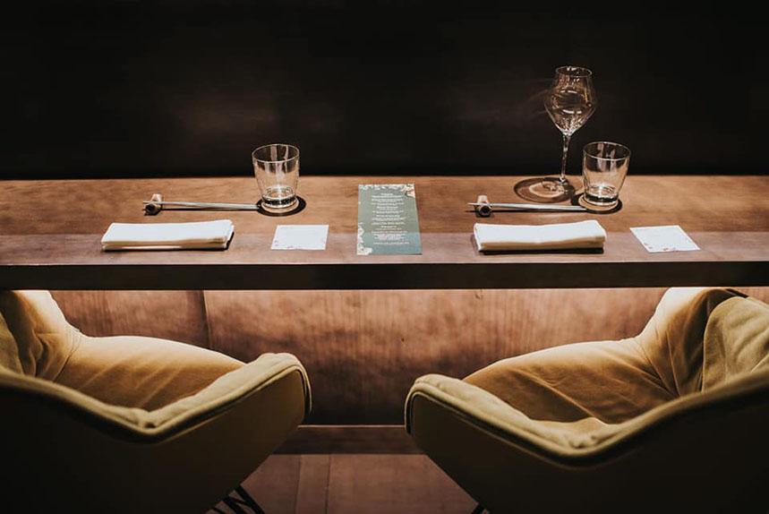 Sala del restaurante Jaxana