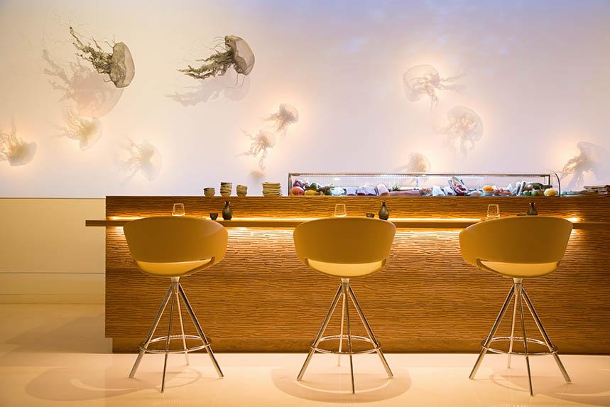 Salón del restaurante La Gaia