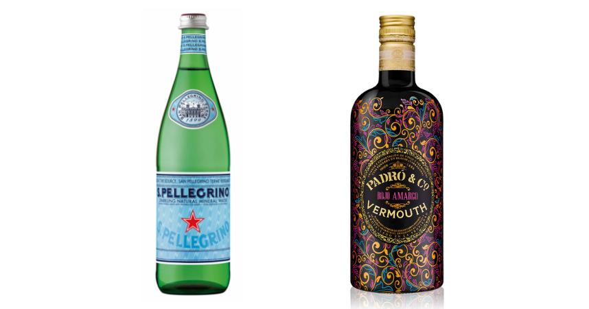 S.Pellegrino y Vermouth Padró & Co. Rojo Amargo