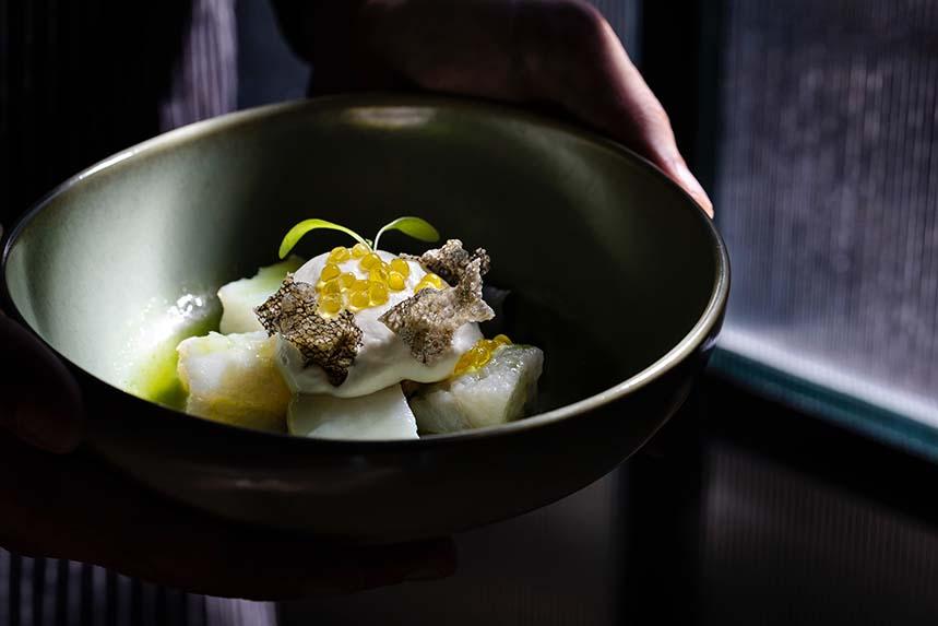 Bacalao, uno de los platos de Henrique Sá Pessoa