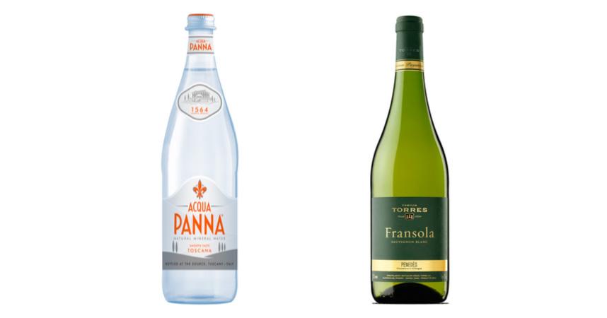Acqua Panna y Fransola